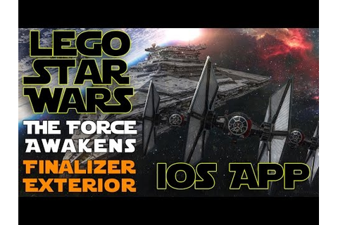 Lego Star Wars The Force Awakens iOS App Game Play ...