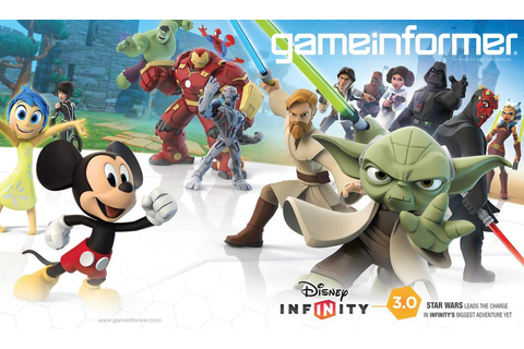 Game Informer Cover Reveal Is Disney Infinity 3.0 | My ...