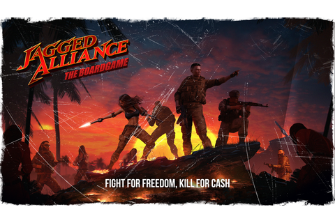 Jagged Alliance: The Board Game – Eric Watson