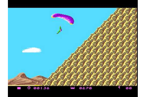 Amiga Game - Paragliding (Simulation) - YouTube