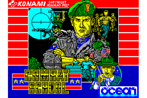 Combat School (1987) by Ocean ZX Spectrum game
