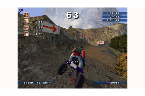 Sega Extreme Sports - Himalayas Easy (Dreamcast) HD Gameplay 1 ...