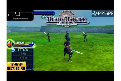 Blade Dancer: Lineage of Light - PSP Gameplay 1080p ...