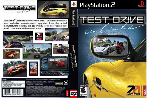 GAME PS2: Test Drive UnLimited