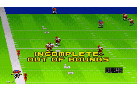 John Madden Football (1990) Sega Genesis Gameplay HD - YouTube