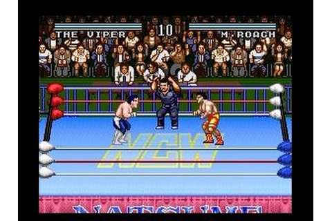 SNES Natsume Championship Wrestling - YouTube