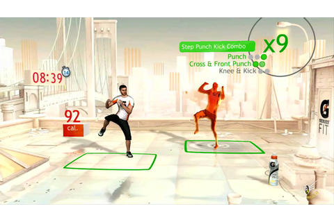 Your Shape Fitness Evolved KINECT (Cardio boxing, fitness ...