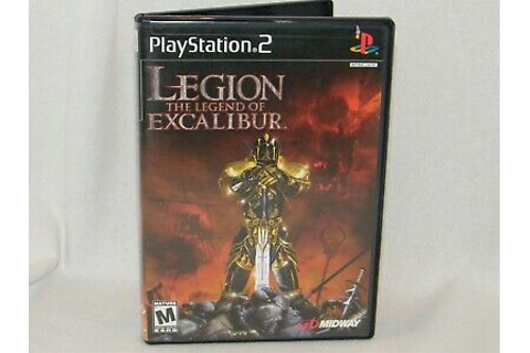 Legion:The Legend of Excalibur - Sony PlayStation 2 / PS2 ...
