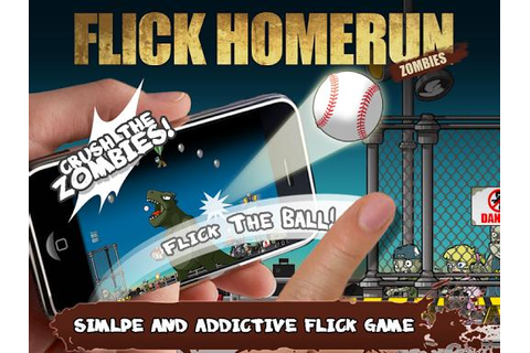 Flick Home Run! : Zombies 1.1.8 APK - Free Sports Game for ...