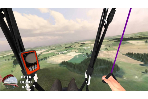 ParaflySim 3D Paragliding Simulator Upcoming Version - YouTube