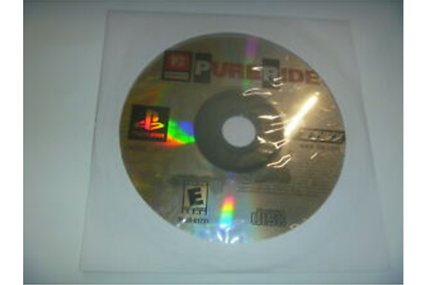 Mtv Sports Pure Ride (2000) Sony Playstation 1 PS1 (Game ...
