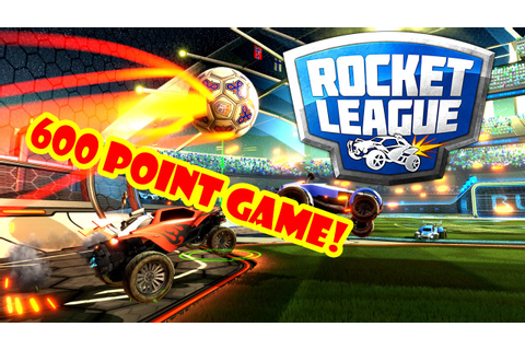 ROCKET LEAGUE 600 XP POINT GAME! - YouTube