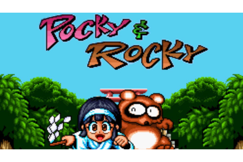 CGRundertow POCKY & ROCKY for SNES / Super Nintendo Video ...