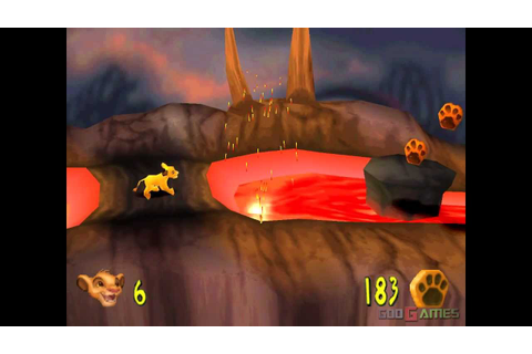Lion King II: Simba's Mighty Adventure - Gameplay PSX (PS ...