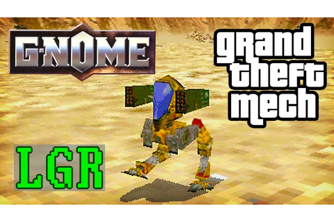 G-Nome: The Forgotten 90s Mech Game - YouTube