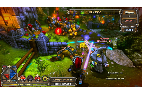 Dungeon Defenders - PC RPG Strategy Action Fantasy Game ...