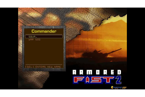 Armored Fist 2 gameplay (PC Game, 1997) - YouTube