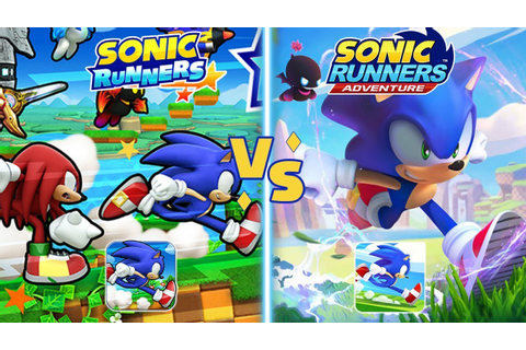 Sonic Runners vs Sonic Runners Adventure: Which is Better ...