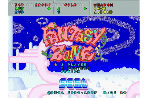 Fantasy Zone - Sega Saturn - Games Database