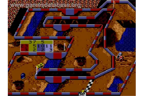 Ironman Ivan Stewart's Super Off-Road - Sega Game Gear ...