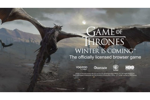 Game of Thrones Winter Is Coming Browser Game Out Now ...