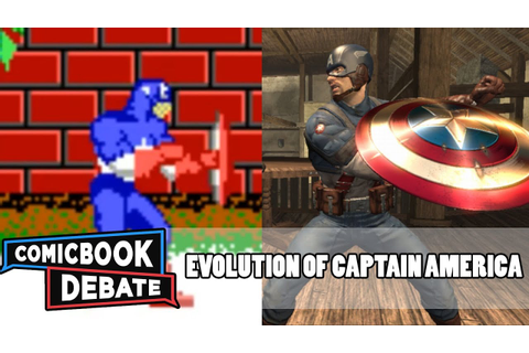 Evolution of Captain America Games in 4 Minutes (2017 ...