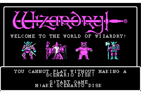 Download Wizardry I - Proving Grounds of the Mad Overlord ...