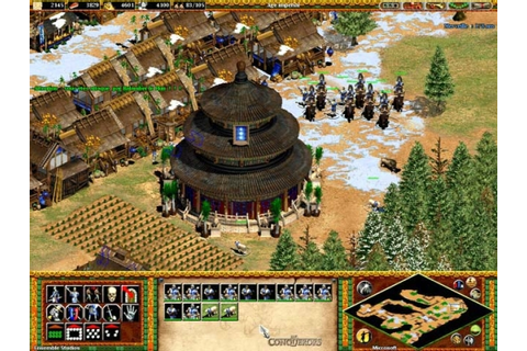 Download Games Age Of Empires (2) II - The Conquerors ...