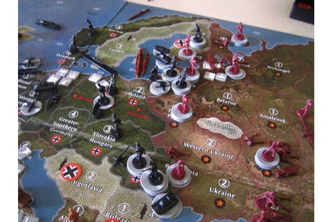 Hiew's Boardgame Blog: further thoughts Axis & Allies ...