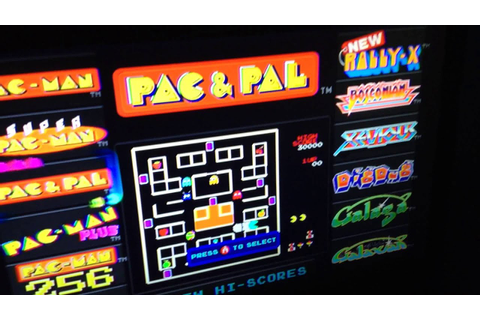 My Old High Score on Pac & Pal! - YouTube