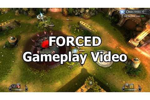 FORCED - Co-Op Gameplay video (Steam game) - YouTube