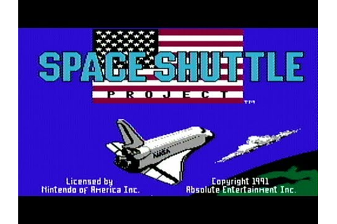 Space Shuttle Project - NES Gameplay - YouTube