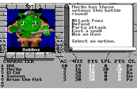 The Bard's Tale II: The Destiny Knight (1988) by ...