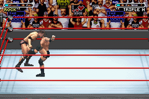 Play WWE - Road to WrestleMania X8 Nintendo Game Boy ...