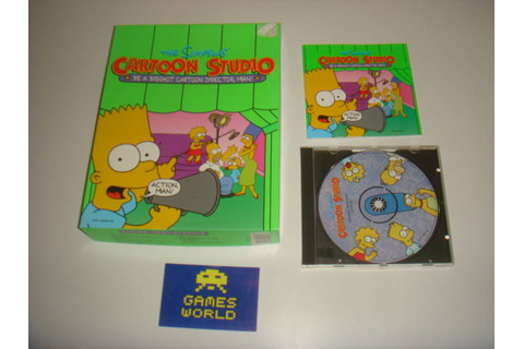 The Simpsons Cartoon Studio (Big Box) [GWB12668] - £12.99 ...