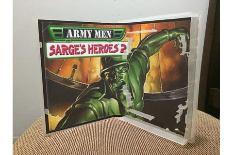 Army Men: Sarge's Heroes 2 N64 video game case | Game Case ...