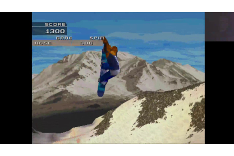 PS1TRY - MTV Sports Snowboarding (Part 2) - YouTube