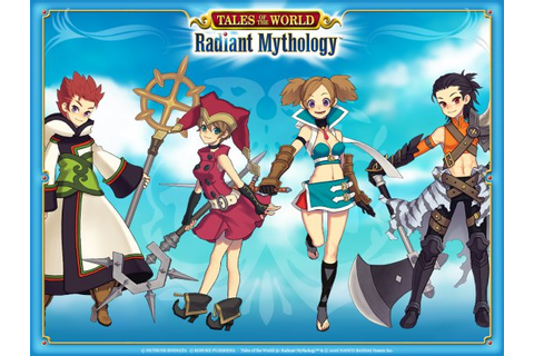 Tales of the World: Radiant Mythology - дата выхода, отзывы