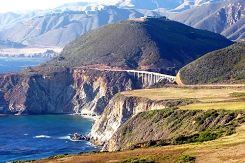 Big Sur, Pacific Coast Highway, Bixby Bridge. VIRTOURIST.COM