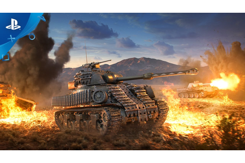 World of Tanks - The Boilermaker Arrives Trailer | PS4 ...