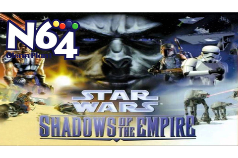 Star Wars : Shadows Of The Empire - Nintendo 64 Review ...