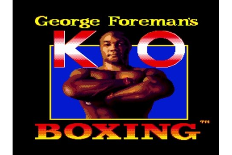 Genesis Longplay - George Foreman's KO Boxing - YouTube