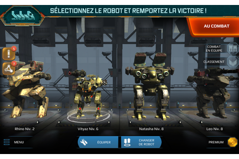 Test du jeu: Walking War Robots - Android-Zone