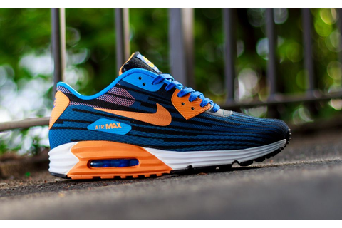 "Nike Air Max Lunar 90 Jacquard ""Game Royal & Bright Mango ..."