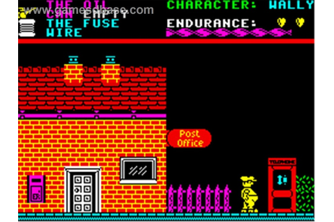Everyone's a Wally (ZX Spectrum) | Old computer games ...