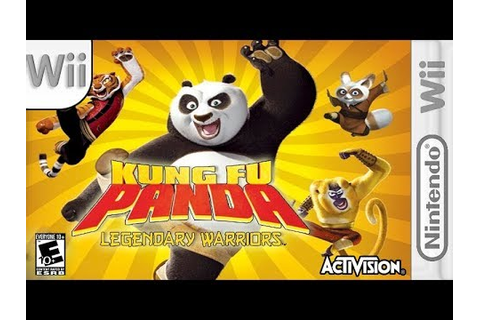 Longplay of Kung Fu Panda: Legendary Warriors - YouTube