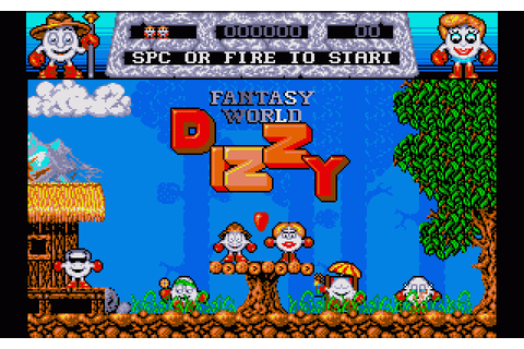 Fantasy World Dizzy (1991) by Optimus Amiga game