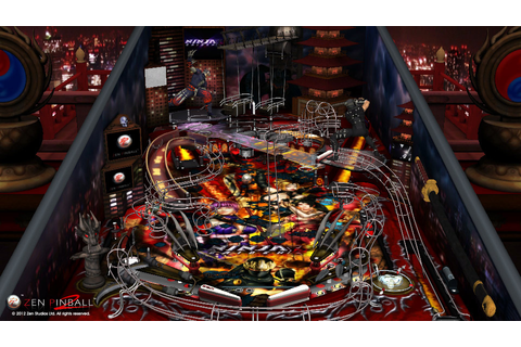 Zen Pinball 2 (PS3 / PlayStation 3) Screenshots