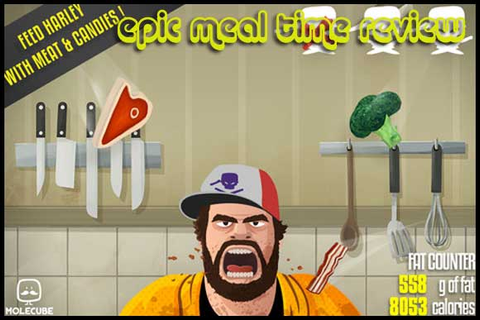 Epic Meal Time (iOS) Game Review: This Will Make You ...