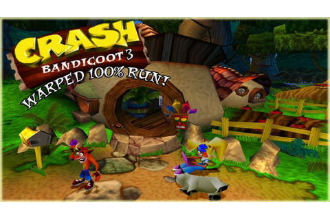 Crash Bandicoot 3 Warped Race To Complete The Game 105% ...